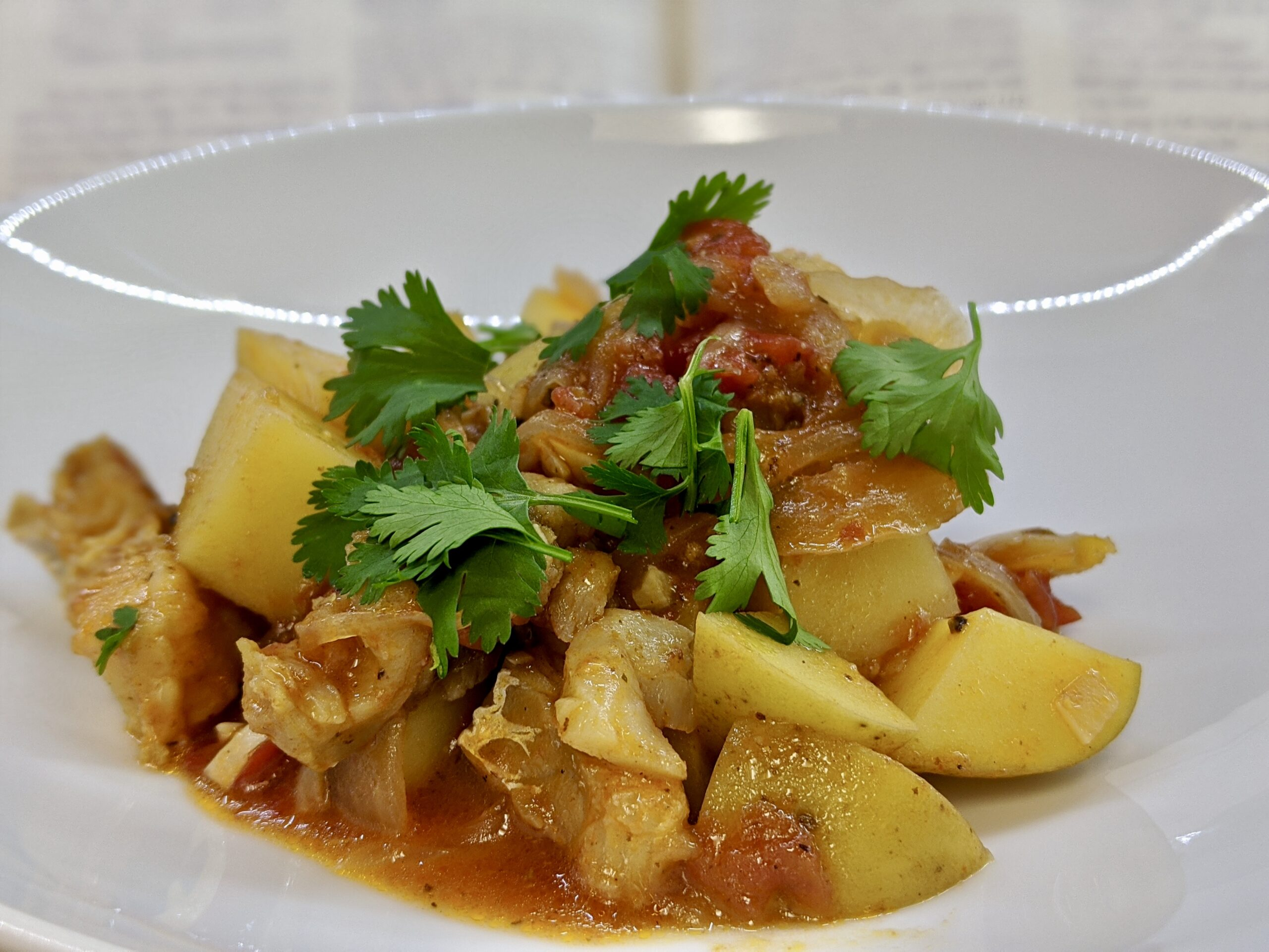 Meal 90 - Ragout de Morue - Stewed Salt Cod