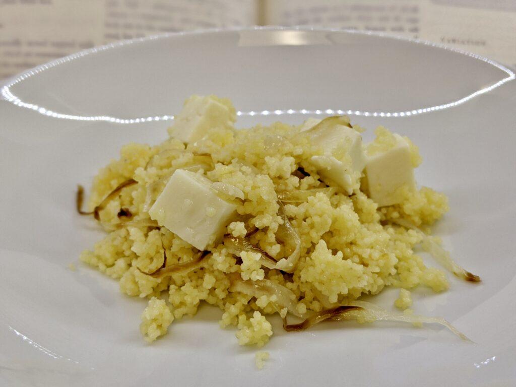 Meal 90 - Burgul bi Jibn - Cracked Wheat with Cheese