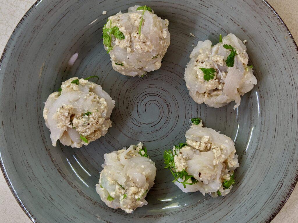 Meal 89 - Boulettes de Poisson à la Sauce Tomate - Fish Balls in Tomato Sauce
