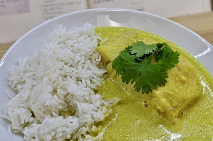 Meal 91 - Fish Curry