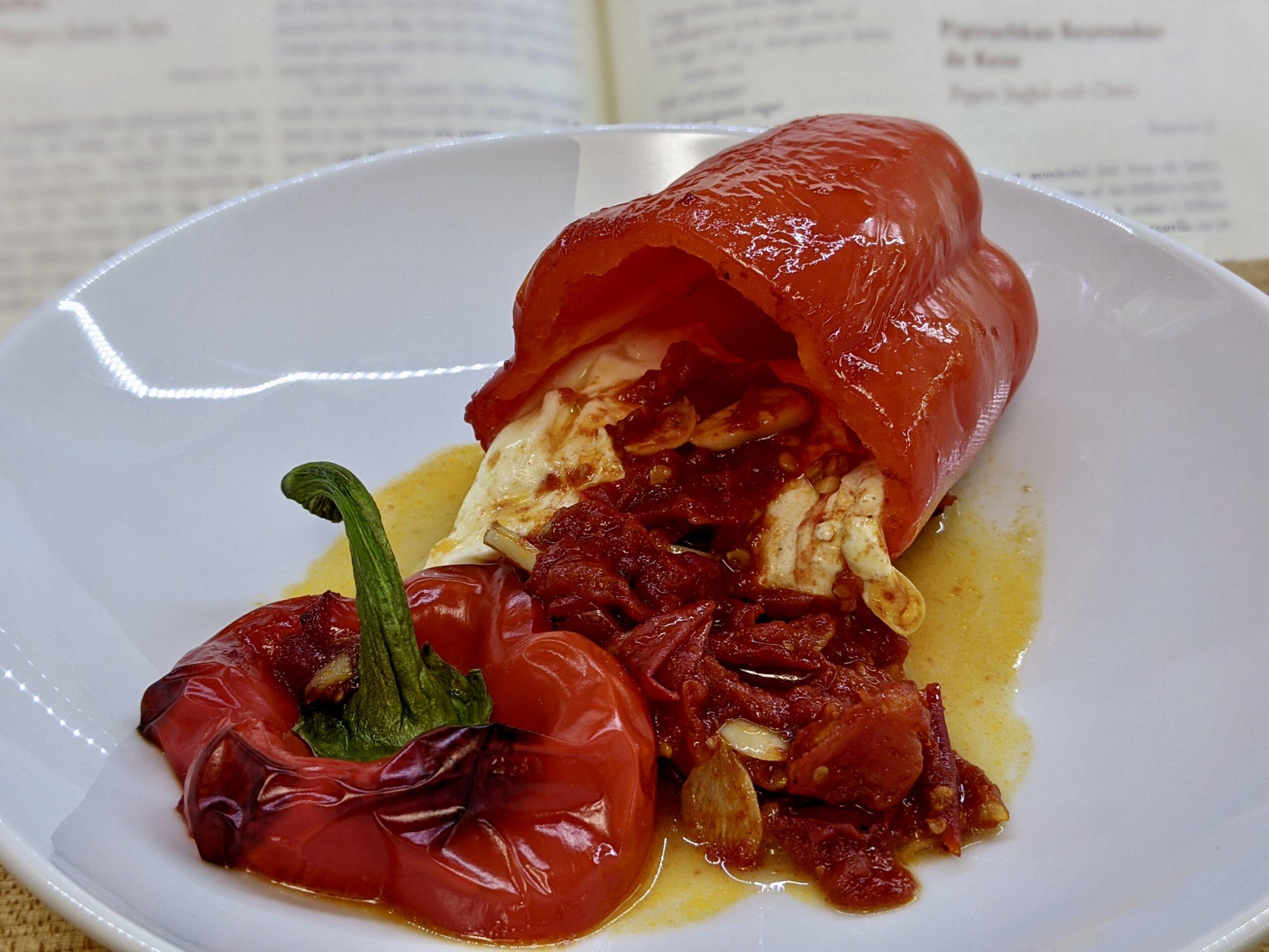 Made In Marrow - Meal 93 Pipiruchkas Reyenadas de Keso - Peppers Stuffed with Cheese