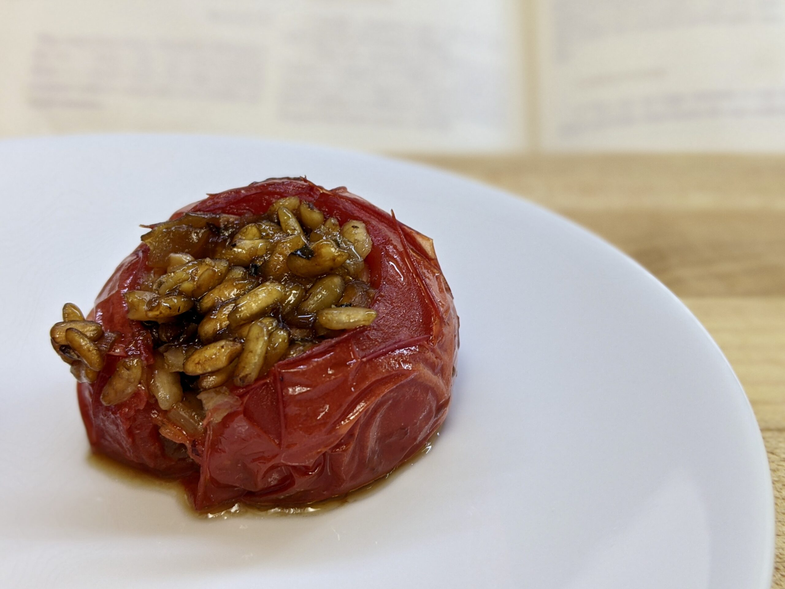 Made In Marrow - Meal 94 - Tomatoes Stuffed With Rice