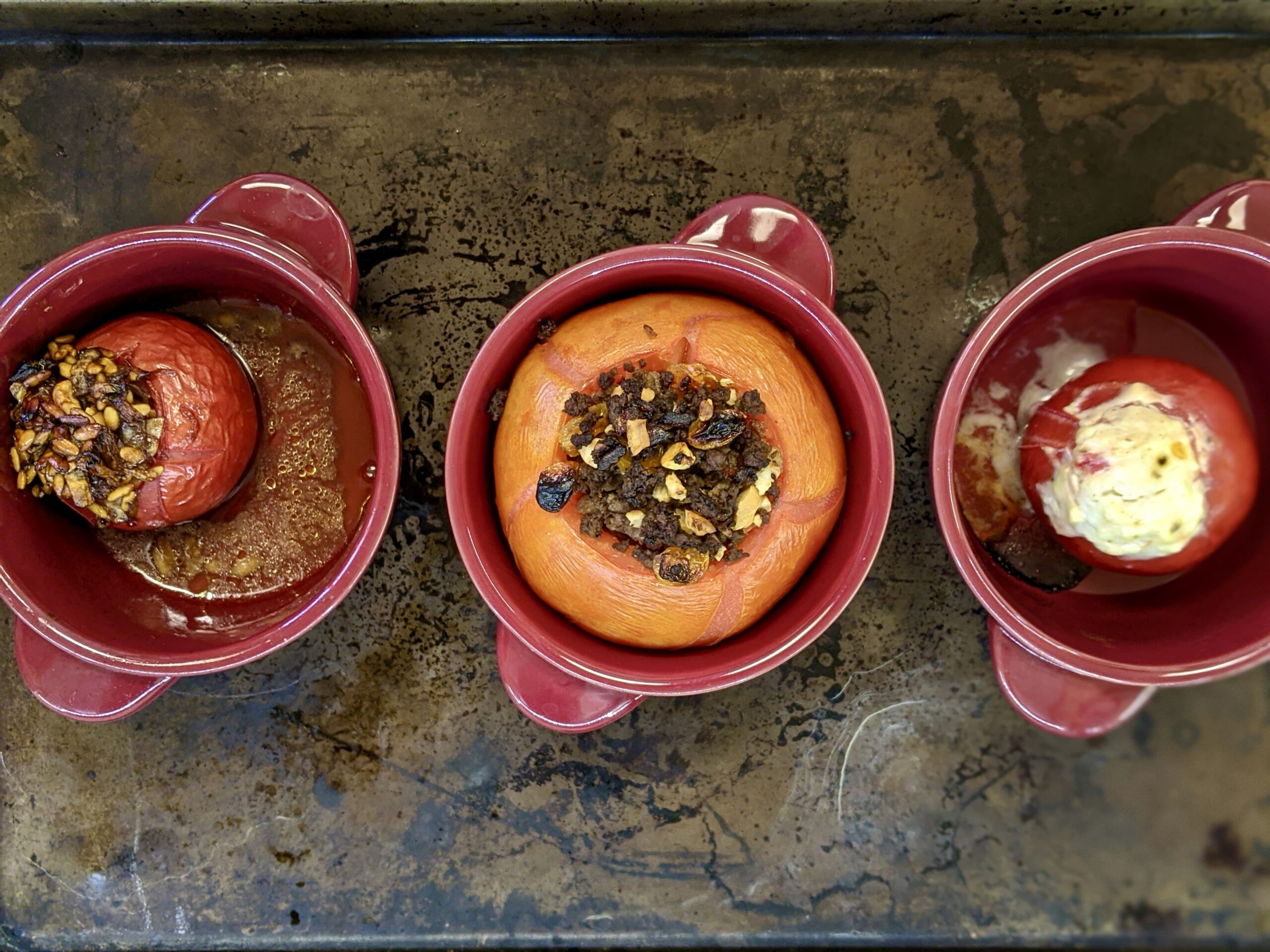 Made In Marrow - Meal 94 - A Trio of Tomatoes