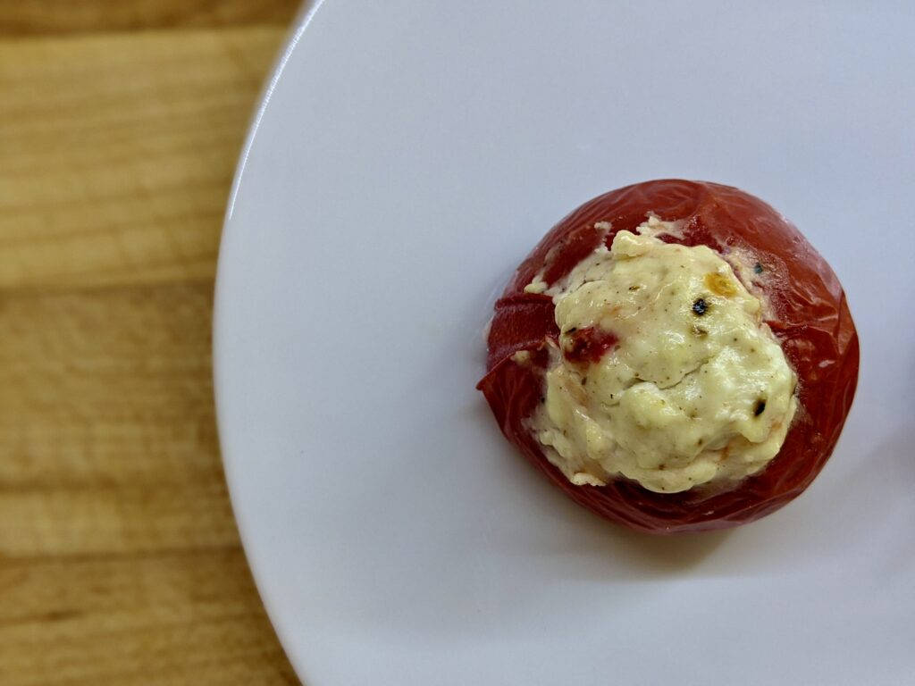 Made In Marrow - Meal 94 - Tomates Yenas de Keso - Tomatoes Stuffed with Cheese