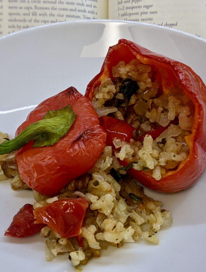 Made In Marrow - Meal 93 Pipiruchkas Reyenadas de Arroz - Peppers Stuffed with Rice