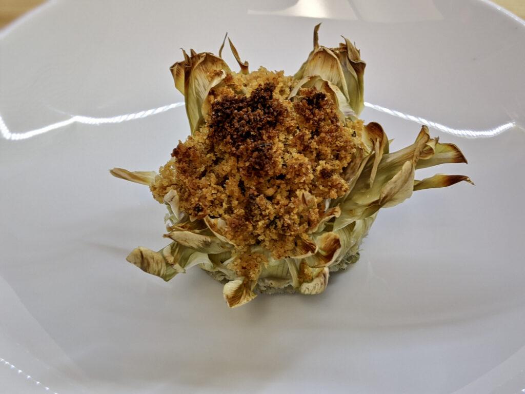 Made In Marrow - Meal 96 - Carciofi Ripieni - Stuffed Artichoke Bottoms