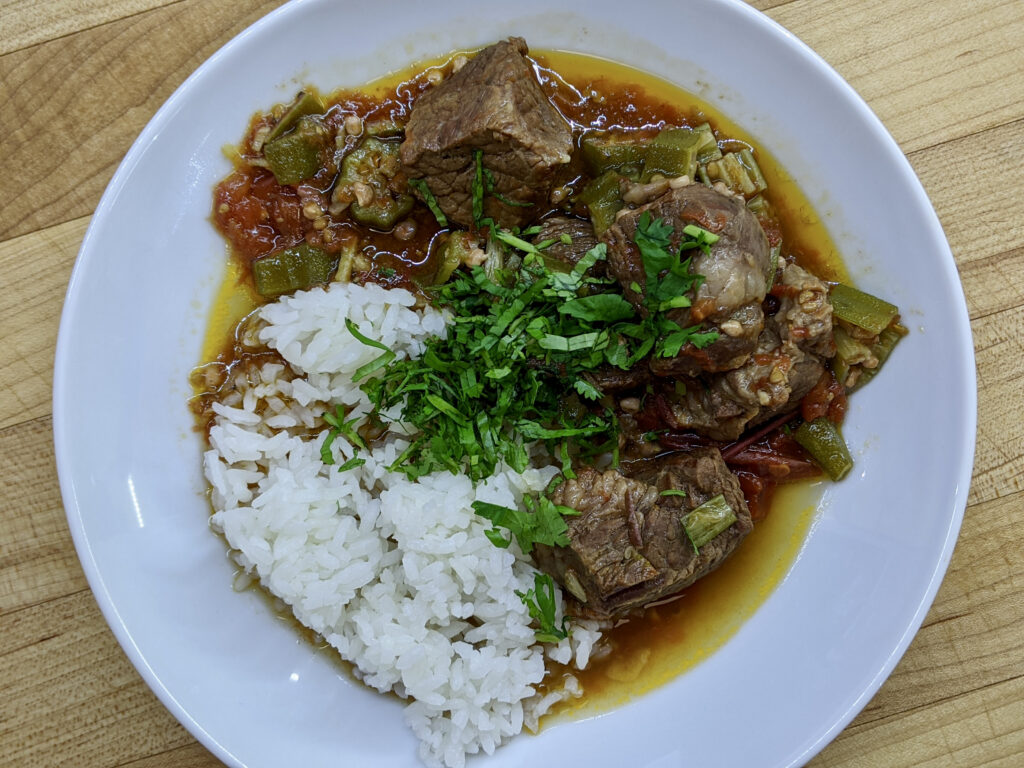 Made In Marrow - Meal 95 - Lahma bi Bamia - Meat with Okra
