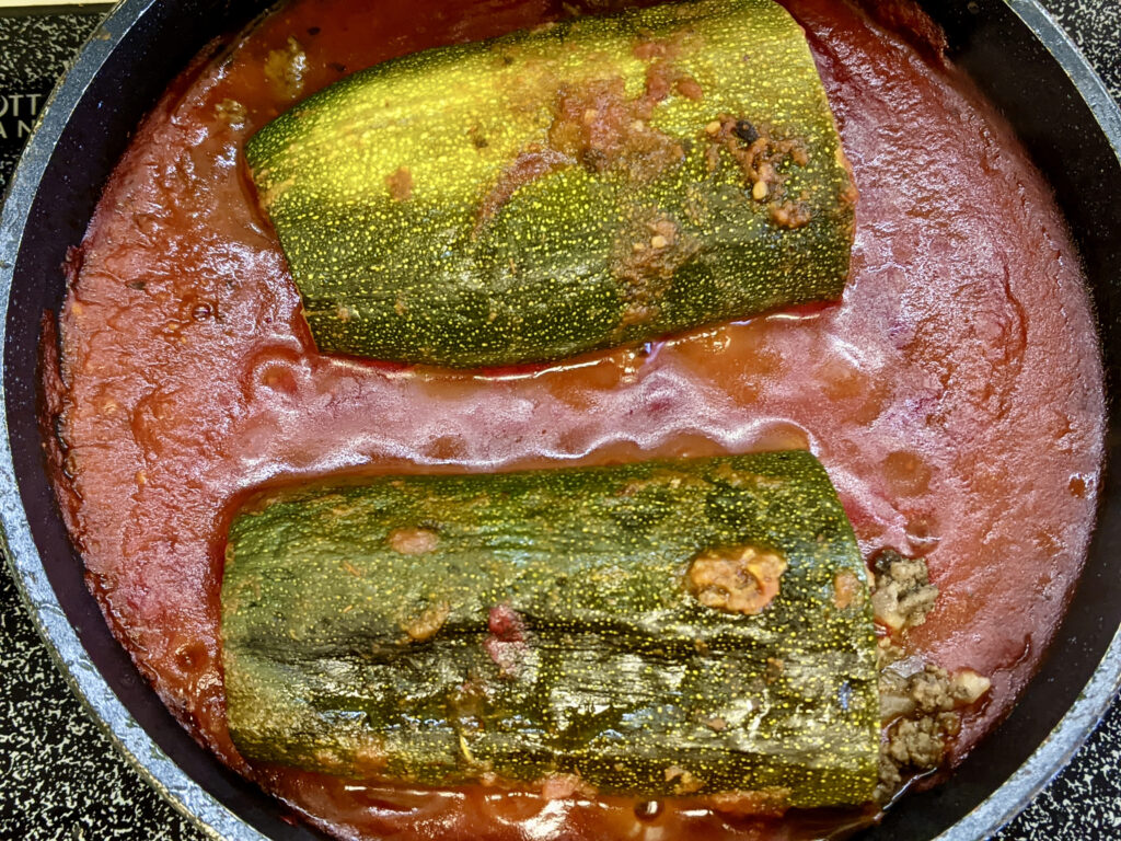 Made In Marrow - Meal 95 Mahshi Cousa - Stuffed Zucchini