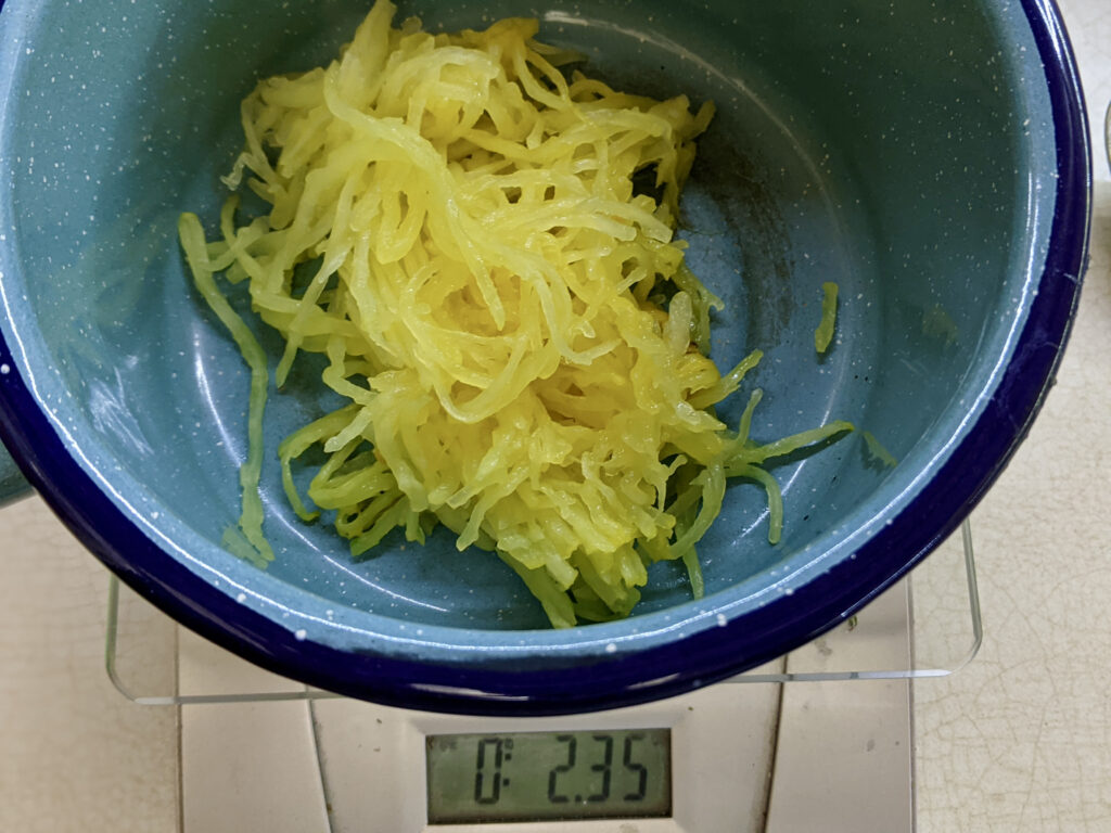 Made In Marrow - Meal 98 - Spaghetti Squash Jam - Confiture de Cheveux d'Ange