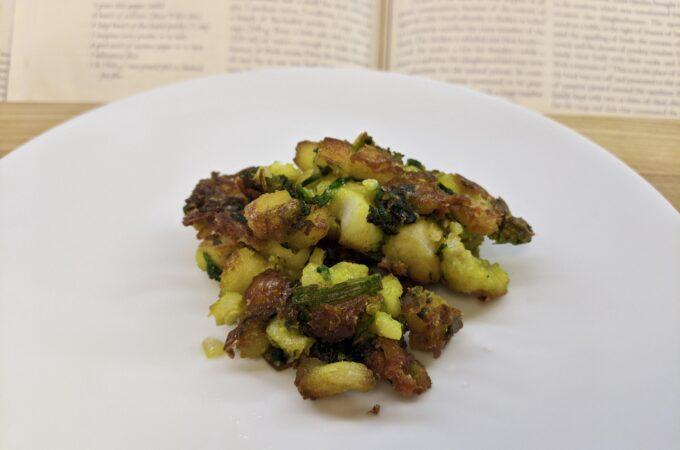 Meal 91 - Arook Tahin bel Samak - Calcutta Fish Cakes