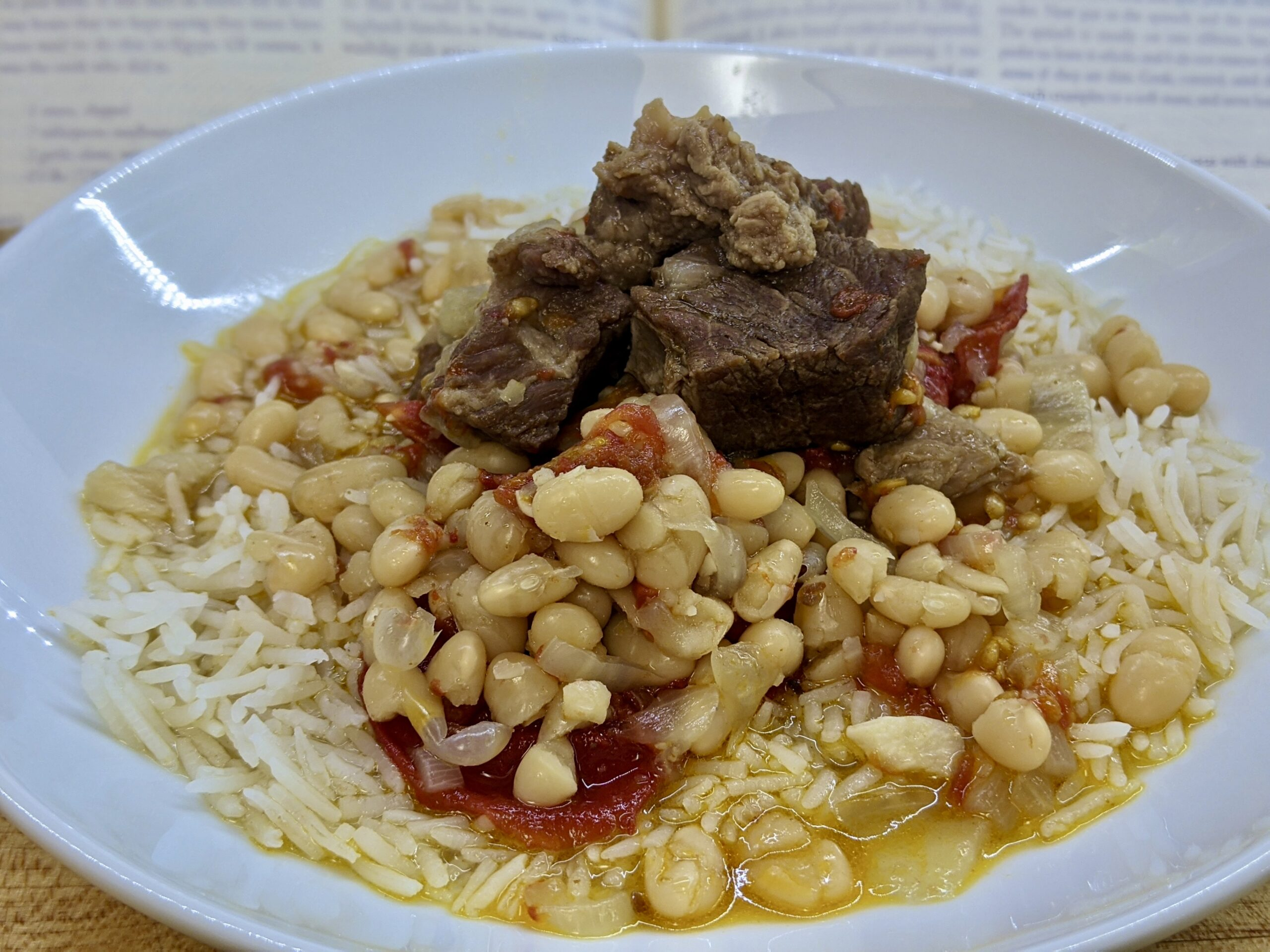 Made In Marrow - Meal 93 - Avas - Haricot Bean Stew