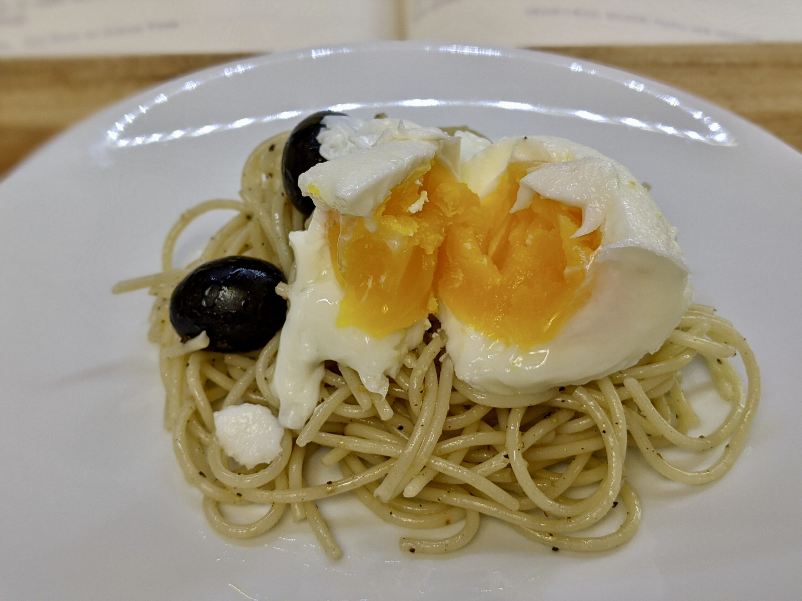 Made In Marrow - Meal 98 - Vermicelli Salad with Olives and Hard-Boiled Eggs - Caveos di Aman